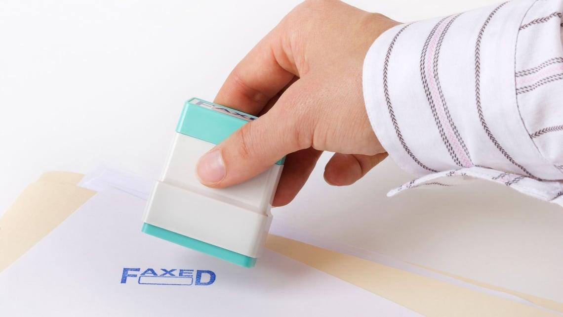 HIPAA-compliant fax